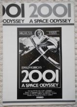 2001 A Space Odyssey, Video ad, Stanley Kubrick, circa 85